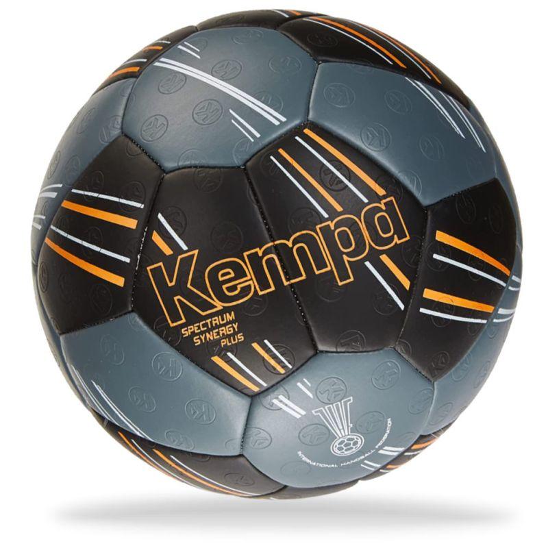 Kempa Spectrum Synergy Plus Handball hellblau-schwarz Größe 2 NEU 80754