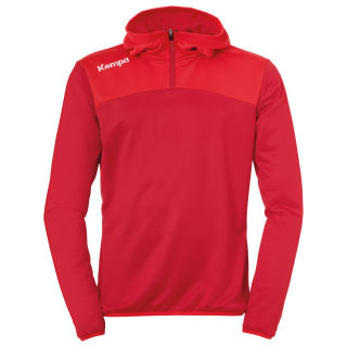 Kempa Zip Hoody Emotion 2.0 chilirot/rot 152