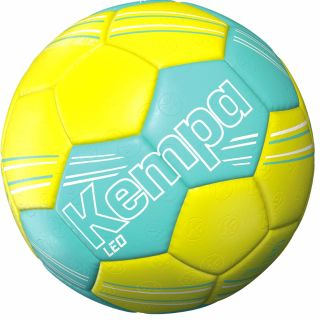 Kempa Handball LEO Training türkis/fluo gelb 0 mini