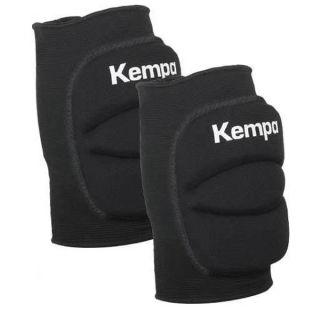 Kempa Knieschoner für Handball & Volleyball Knieschützer gepolstert (Paar) schwarz L = Knieumfang 38-43 cm