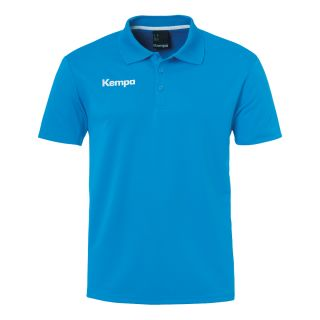 Kempa Polo-Shirt POLY Teamline kempablau XL