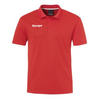 Kempa Polo-Shirt POLY Teamline rot M