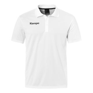 Kempa Polo-Shirt POLY Teamline weiß 152